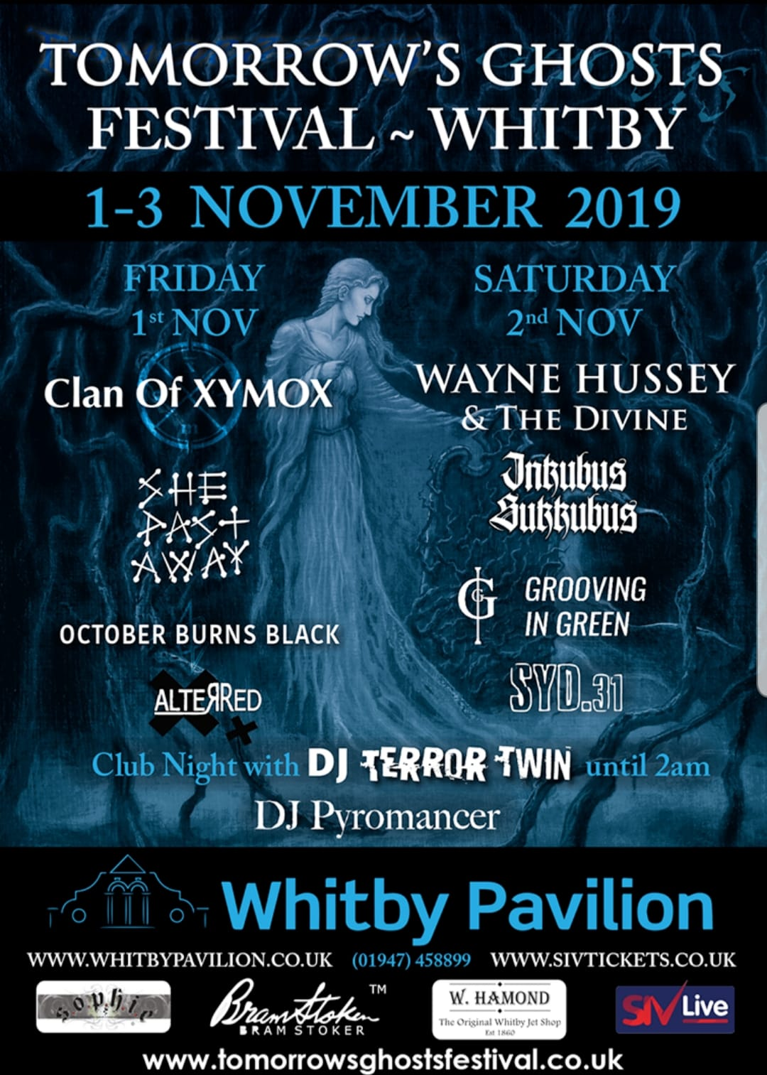 Tomorrows Ghost Festival Featuring Wayne Hussey
